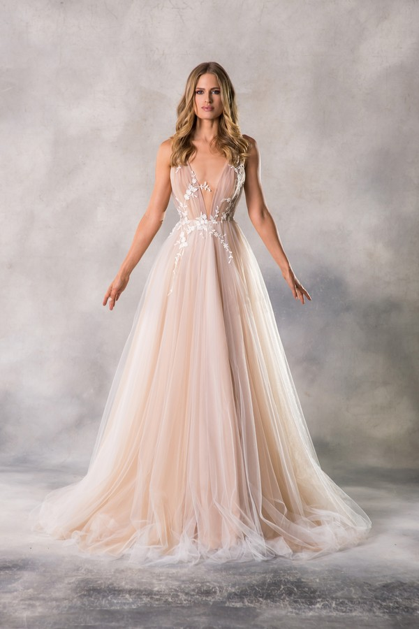 Roxy Wedding Dress from the Anna Georgina Casablanca 2019 Bridal Collection