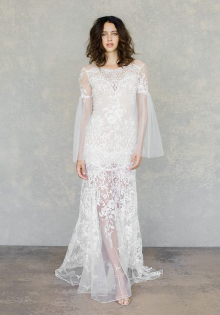 Sahara Wedding Dress in Ivory from the Claire Pettibone The White Album Spring 2019 Bridal Collection
