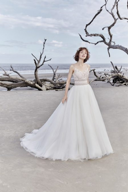 Saylor Rose Wedding Dress from the Sottero and Midgley Ariya Fall 2018 Bridal Collection