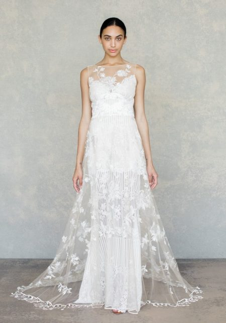 Shangri-La Wedding Dress in Ivory from the Claire Pettibone The White Album Spring 2019 Bridal Collection