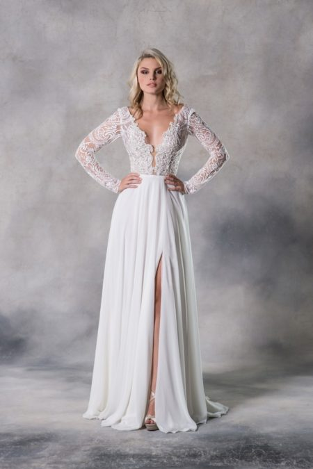 Taylor Wedding Dress from the Anna Georgina Casablanca 2019 Bridal Collection
