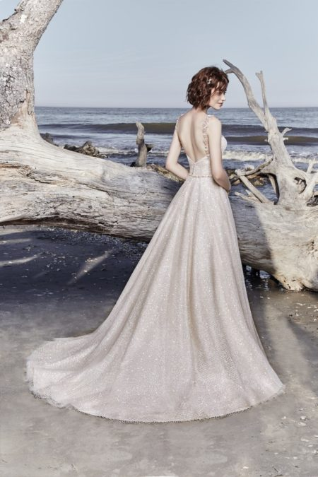 Back of Vidette Wedding Dress from the Sottero and Midgley Ariya Fall 2018 Bridal Collection