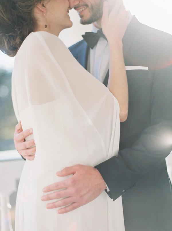 Bride's cape