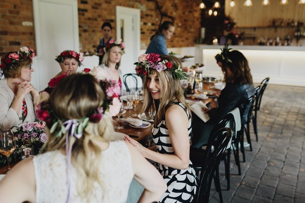 Foodie hen party at The Farm Yarra Valley