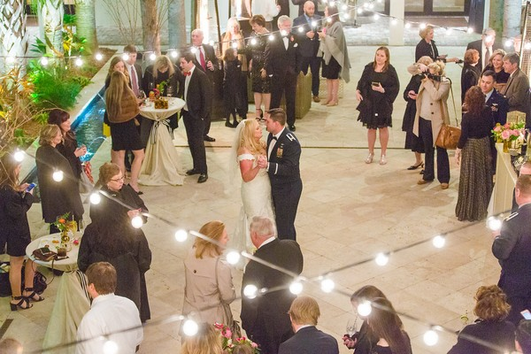 Wedding first dance at Cannon Green, Charleston