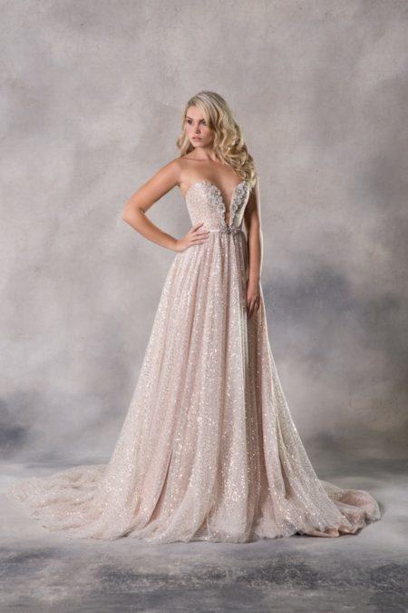 Alexia Wedding Dress from the Anna Georgina Couture Pandora 2019 Bridal Collection