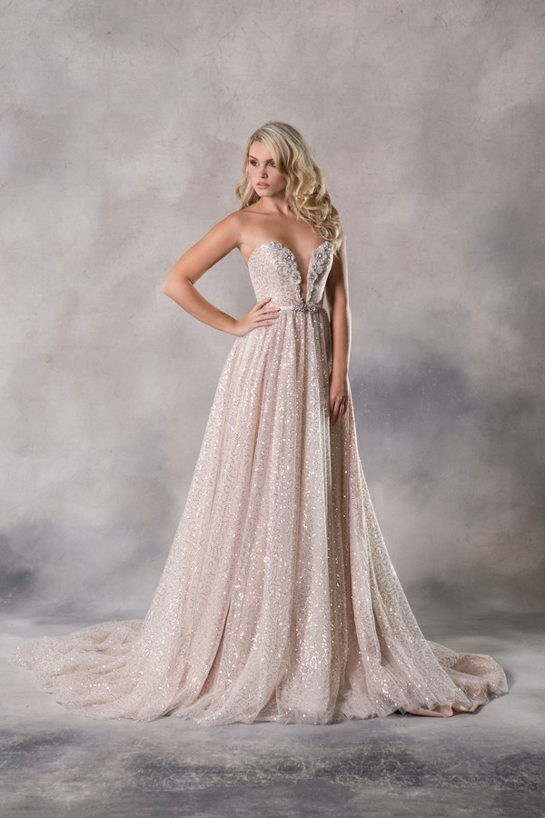 Alexia Wedding Dress from the Anna Georgina Couture Pandora 2019 Bridal Collection