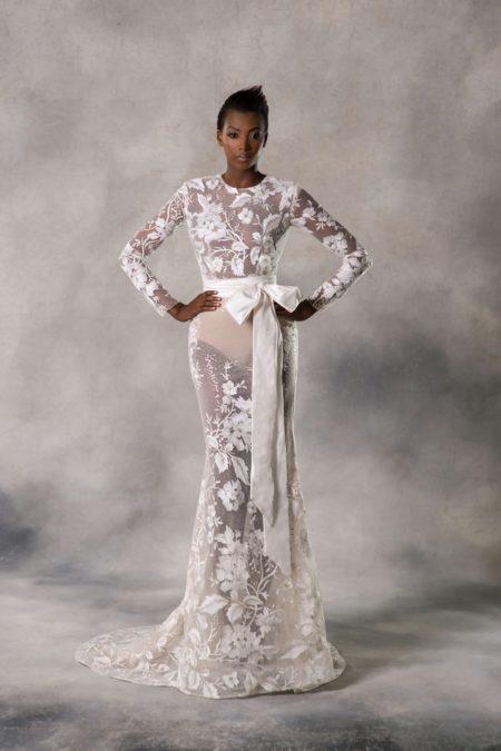 Autumn Wedding Dress from the Anna Georgina Couture Pandora 2019 Bridal Collection