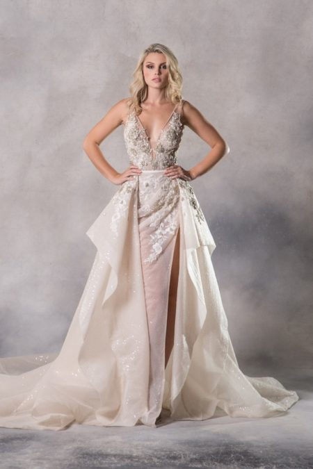 Brigitte Wedding Dress from the Anna Georgina Couture Pandora 2019 Bridal Collection