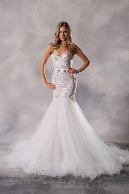 Charlize Wedding Dress from the Anna Georgina Couture Pandora 2019 Bridal Collection
