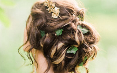 Bridal Hair Trends – Deconstructed Flower Crowns