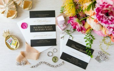 A Colourful Kate Spade Inspired Wedding
