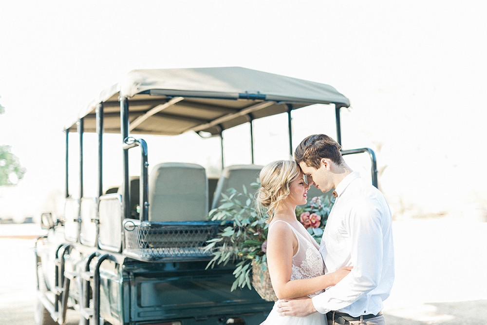 Luxury Safari Wedding Inspiration in South Africa