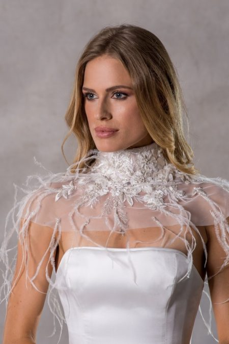 Pia Collar from the Anna Georgina Couture Pandora 2019 Bridal Collection