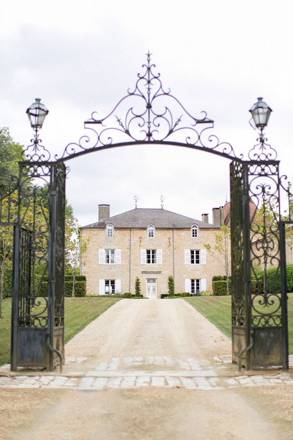 Gates of Chateau de Redon