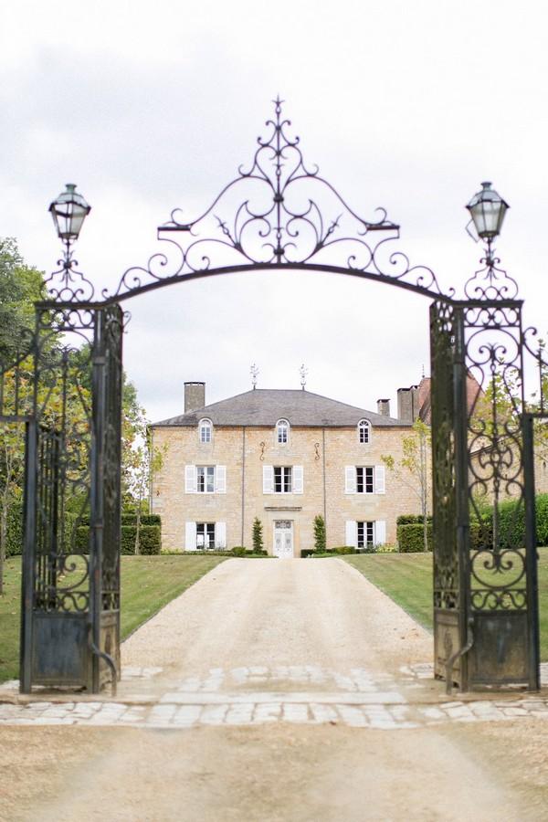 Gates of Chateau de Redon