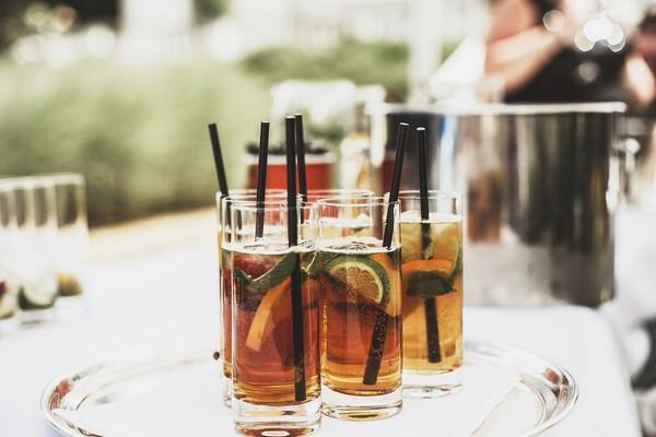 Pimm's wedding drinks