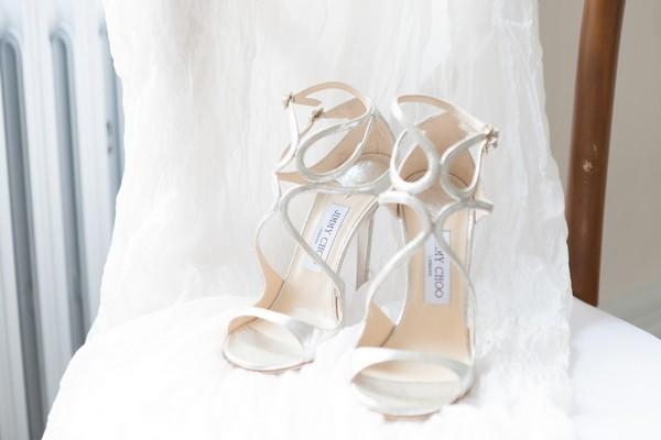 Jimmy Choo Lance bridal shoes