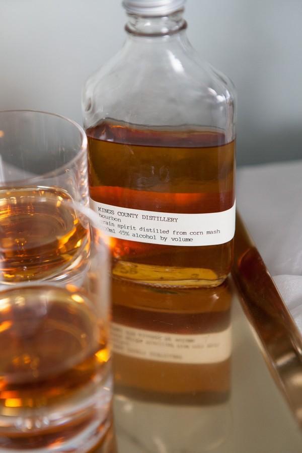 Bottle of whisky