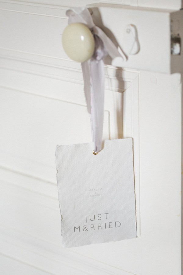 Just married tag
