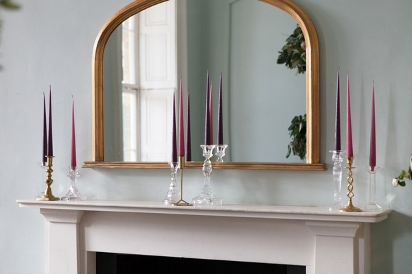 Mirror over mantelpiece at Clissold House