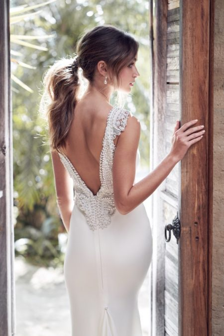 Back of Blake Wedding Dress from the Anna Campbell Wanderlust 2019 Bridal Collection