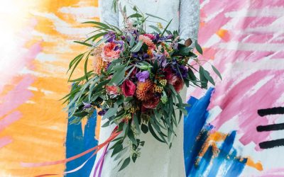 Modern Art Wedding Styling