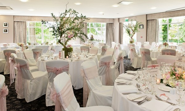 Wedding Tables in Garden Room at Ribby Hall Village