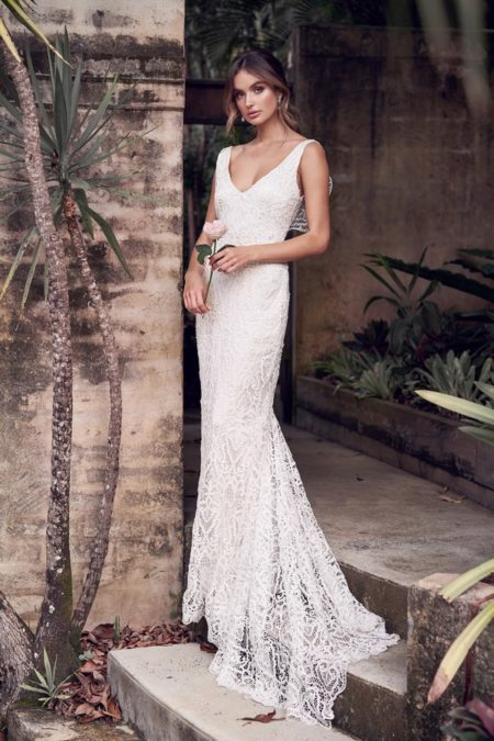 Kira Wedding Dress from the Anna Campbell Wanderlust 2019 Bridal Collection