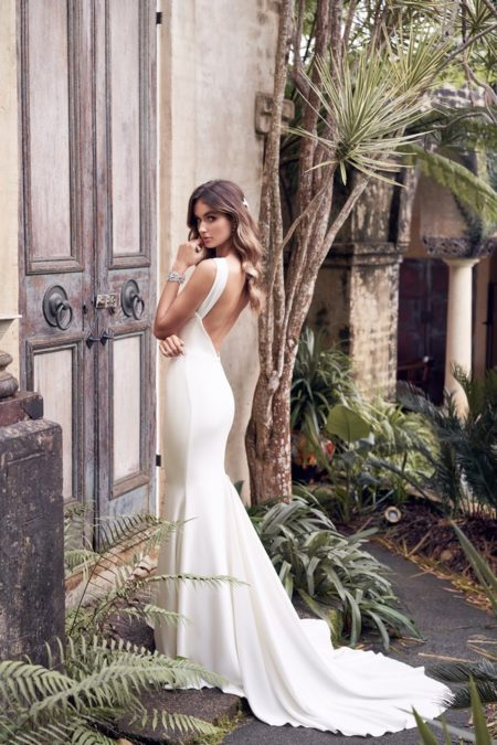 Back of Rebekah Wedding Dress from the Anna Campbell Wanderlust 2019 Bridal Collection
