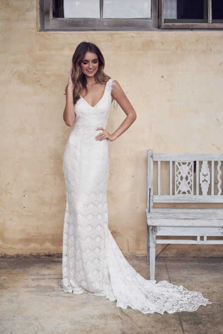 Saasha Wedding Dress from the Anna Campbell Wanderlust 2019 Bridal Collection