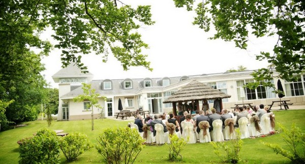 Wedding Ceremony in The Summer House at Ribby Hall Village