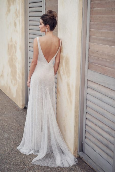 Back of Wanda Wedding Dress from the Anna Campbell Wanderlust 2019 Bridal Collection