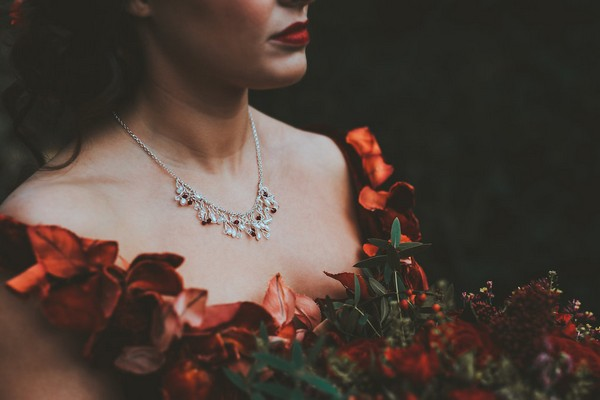 Bride's necklace