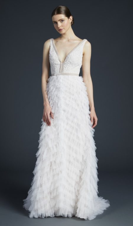 Bolta Wedding Dress from the Anne Barge Fall 2019 Bridal Collection
