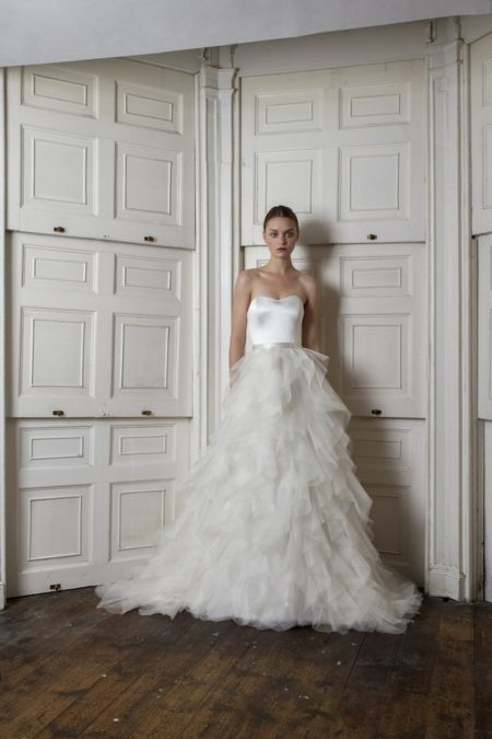 Breeze Corset with Riri Skirt from the Halfpenny London The Air That We Breathe 2019 Bridal Collection
