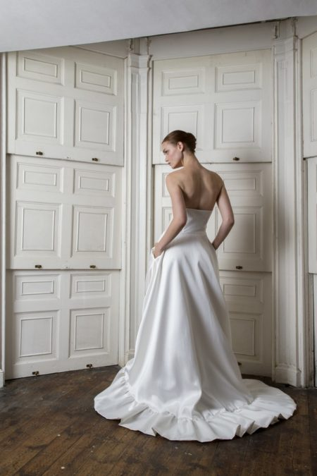 Back of Breeze Dress from the Halfpenny London The Air That We Breathe 2019 Bridal Collection