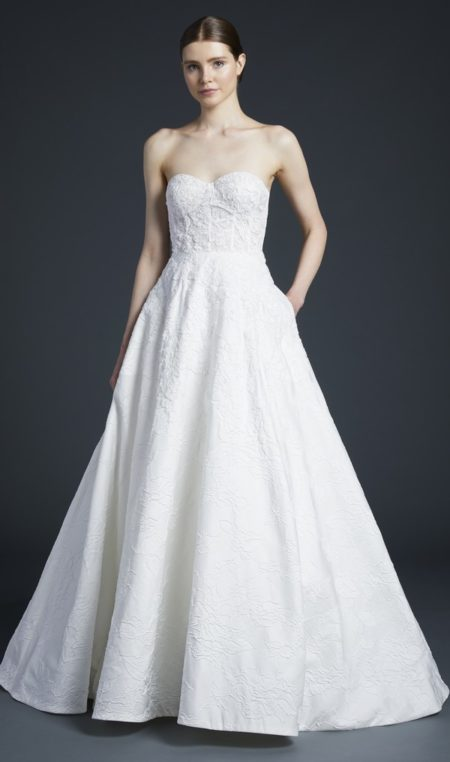 Burton Wedding Dress from the Anne Barge Fall 2019 Bridal Collection