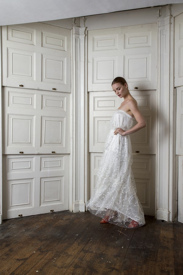 Back of Camden Dress from the Halfpenny London The Air That We Breathe 2019 Bridal Collection