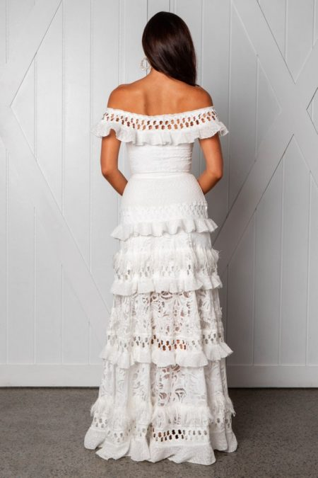 Back of Coco Wedding Dress from the Grace Loves Lace Icon 2018 Bridal Collection
