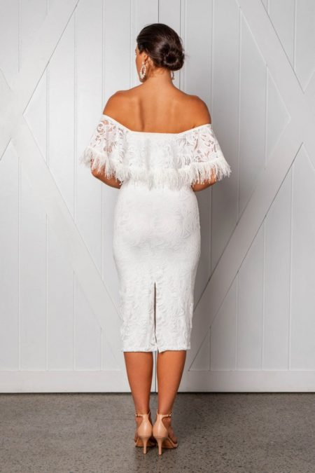Back of Dominga Wedding Dress from the Grace Loves Lace Icon 2018 Bridal Collection