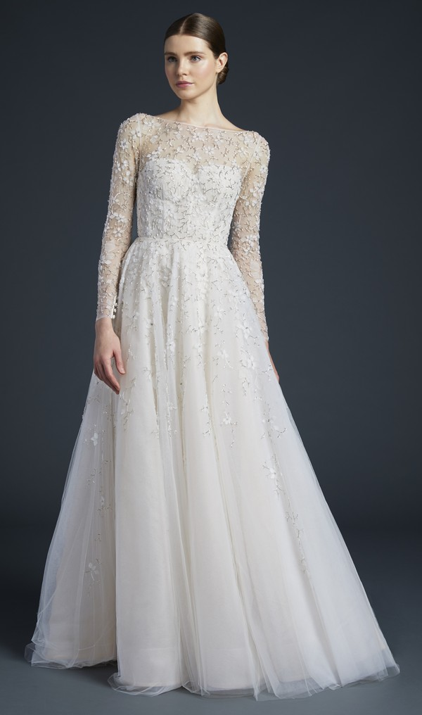 Eames Wedding Dress from the Anne Barge Fall 2019 Bridal Collection