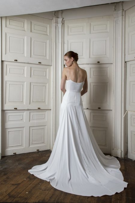 Back of Finsbury Dress from the Halfpenny London The Air That We Breathe 2019 Bridal Collection