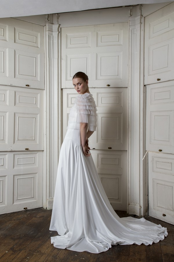 Finsbury Dress with Euston Jacket from the Halfpenny London The Air That We Breathe 2019 Bridal Collection