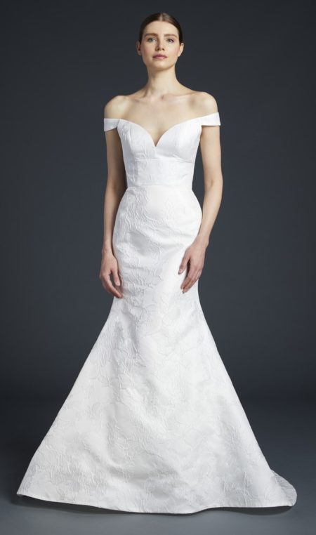 Frankie Wedding Dress from the Anne Barge Fall 2019 Bridal Collection