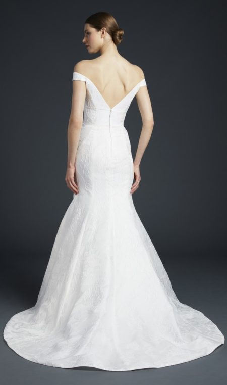 Back of Frankie Wedding Dress from the Anne Barge Fall 2019 Bridal Collection