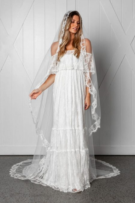 Frederike Veil from the Grace Loves Lace Icon 2018 Bridal Collection
