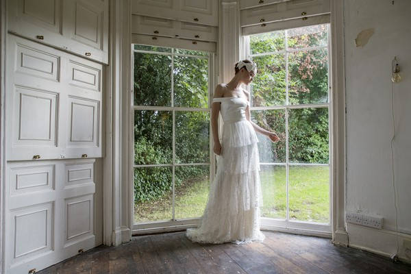 Halfpenny London The Air That We Breathe 2019 Bridal Collection - Harbour Top with Camden Skirt