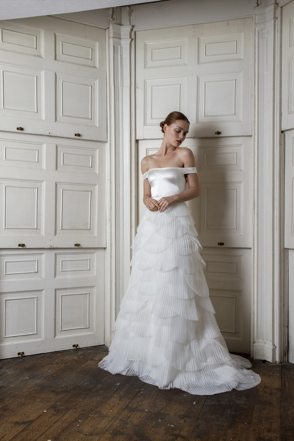 Harbour Top with Euston Skirt from the Halfpenny London The Air That We Breathe 2019 Bridal Collection