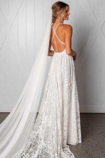 Back of Harri Wedding Dress from the Grace Loves Lace Icon 2018 Bridal Collection